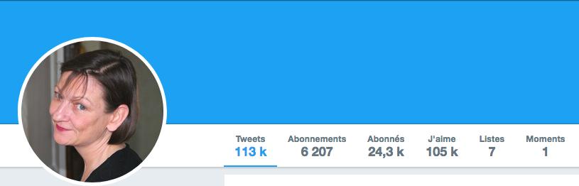 Suivez Catherine sur twitter