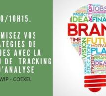 9h30/10h15. Workshop. Optimisez vos stratégies de marques avec la solution de  tracking et d'analyse Mytwip