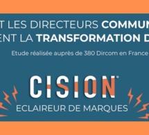10h30/11h15 - Transformation digitale de la communication : où en sommes-nous ? Etude Cision
